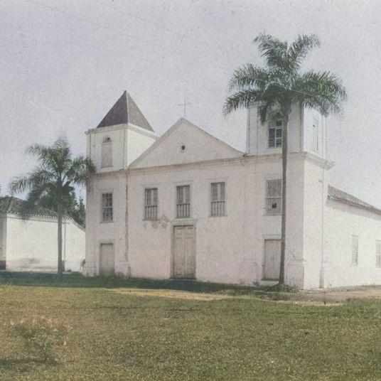 ANTIGA IGREJA DO ROSÁRIO - DÉCADA DE 1910 - AUTOR E ACERVO DESCONHECIDOS - COLORIZADA POR JOÃO EDILSON LOPES
