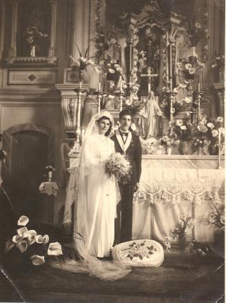 Gracia e Jõazinho. 04.09.1943.