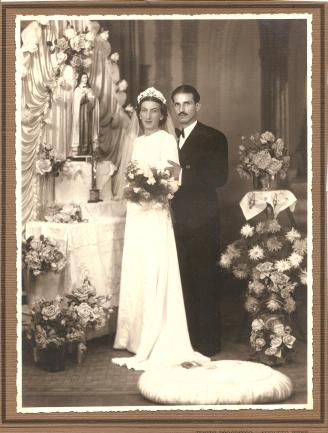 Brazilia e Reinaldo. Foto Progresso - Augusto Weiss. Curitiba, 25.01.1941.