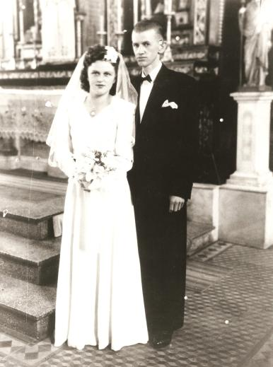 Alexandre Aracema e esposa Wiechetech.