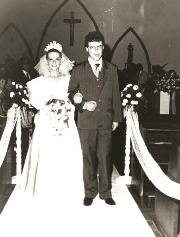 Casamento na Igreja Santo Antônio.