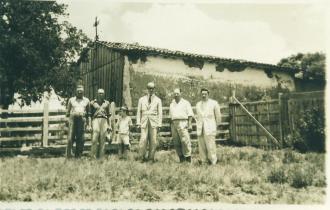 Capela Stª Bárbara - 1947.