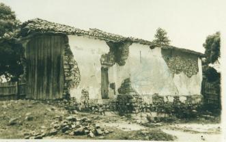 Capela Stª Bárbara, Vista externa - 1947.