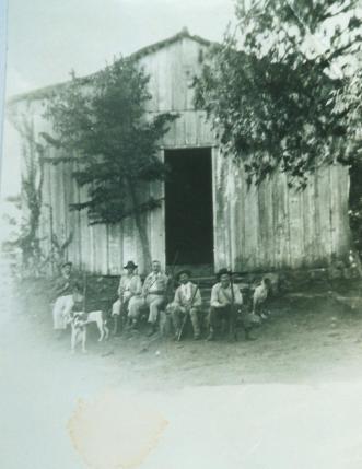 Capela Stª Bárbara. - Caçadores - 1940.
