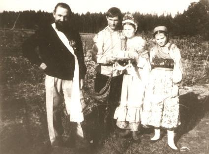 Casamento de Jovens Russos.