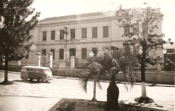 Colégio Regente Feijó, local do escritório técnico da Universidade Volante. Ponta Grossa, 07.08.1961