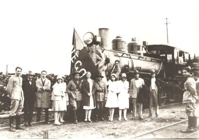 Comitiva de Getúlio Vargas - 1930.