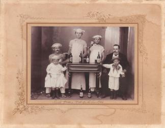 Família Suckow - 15 de outubro de 1909
