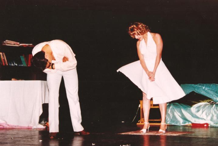 Grupos de Teatro do Conservatório Dramático Musical Maestro Paulino Martins Alves - Peça ''O pecado mora ao lado''.