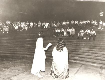 Grupo Lambe Lambe - Peça ''Antigona'' - Março de 1985.
