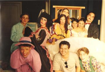 Grupo Thespys Theatro - Peça ''O Noviço'' - Teatro Pax 1995.