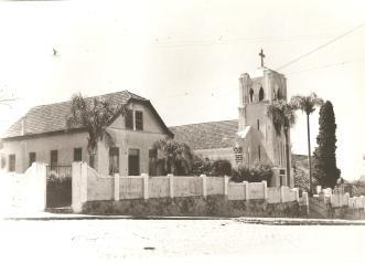 Igreja Luterana - Rua Cel. Bitencourt com Francisco Búrzio.