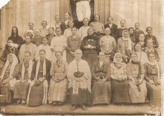 Igreja São João - Padre Roberto Bonk e Senhoras Legião.