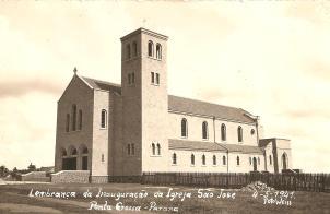 Inauguração da Igreja São José - 04.05.1941. - Foto Weiss.