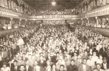 Interior do Cine Renascença.