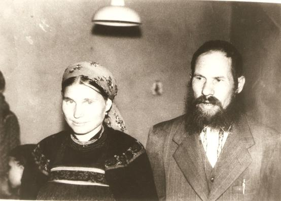 Ivan e Ekaterina Ivanoff - Ponta Grossa, década de 1980.
