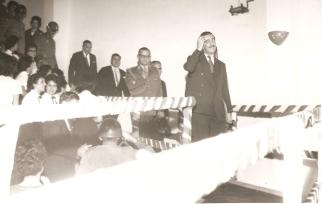 Jânio Quadros em Ponta Grossa. Década de 1960.