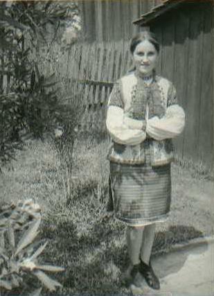 Jovem ucraniana, 1966.