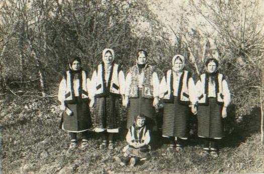 Jovens ucranianas, 1939.