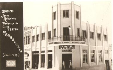 Reforma do Cine Renascença. 1936.