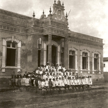 Grupo Escolar Dr. Claudino - Ipiranga década de 192020