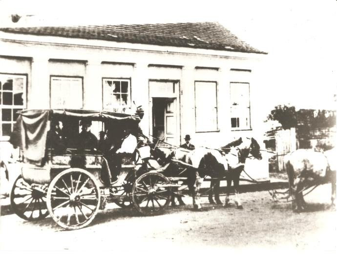 Diligência para Tibagi, em 1905.