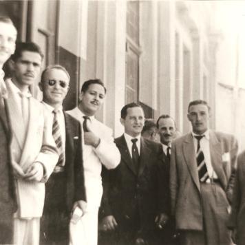Jazz Guarany - 2. Abilhôa 4. Sanson 5.Ernesto 6.Francisquini e 7. Contin Mendes.