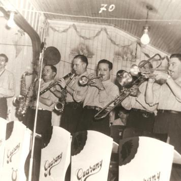 Jazz Guarany - Sanson, trompetista.