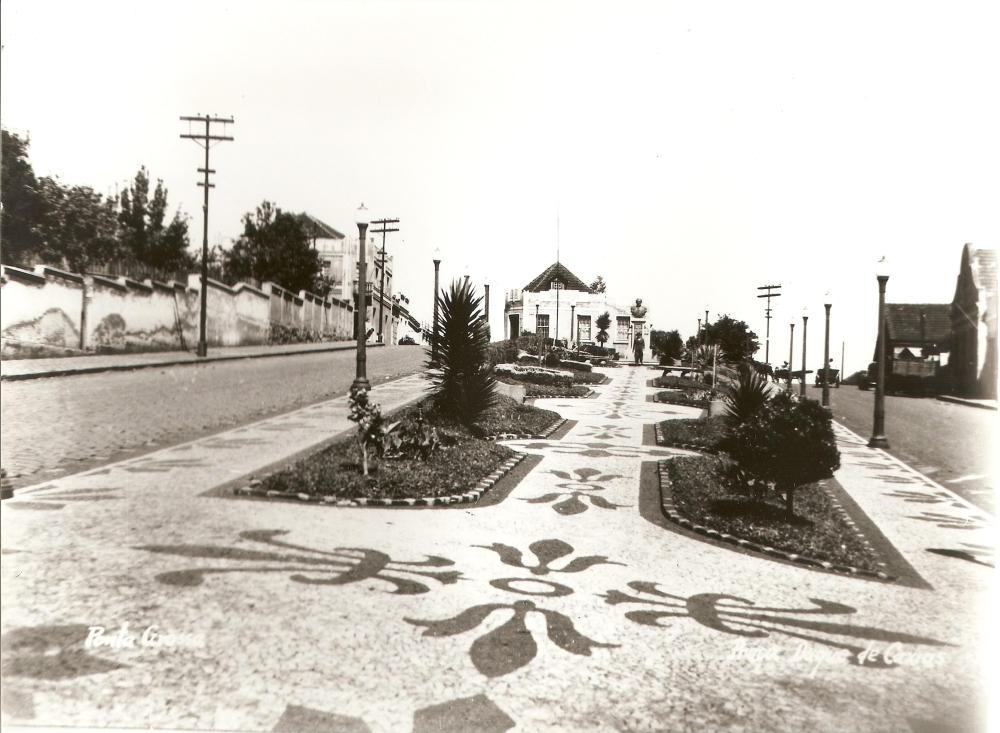 Praça Duque de Caxias. Déc. de 1940.