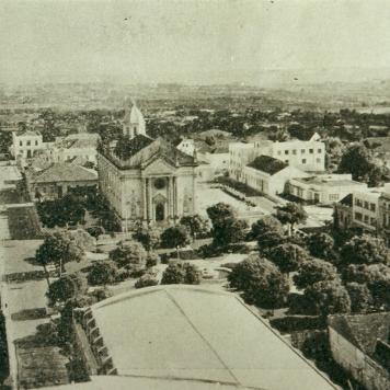Praça Marechal Floriano Peixoto, década de 1960