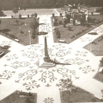 Praça Marechal Floriano Peixoto em 1966